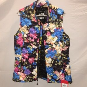 NWT The North Face Women's Floral Vest Size M